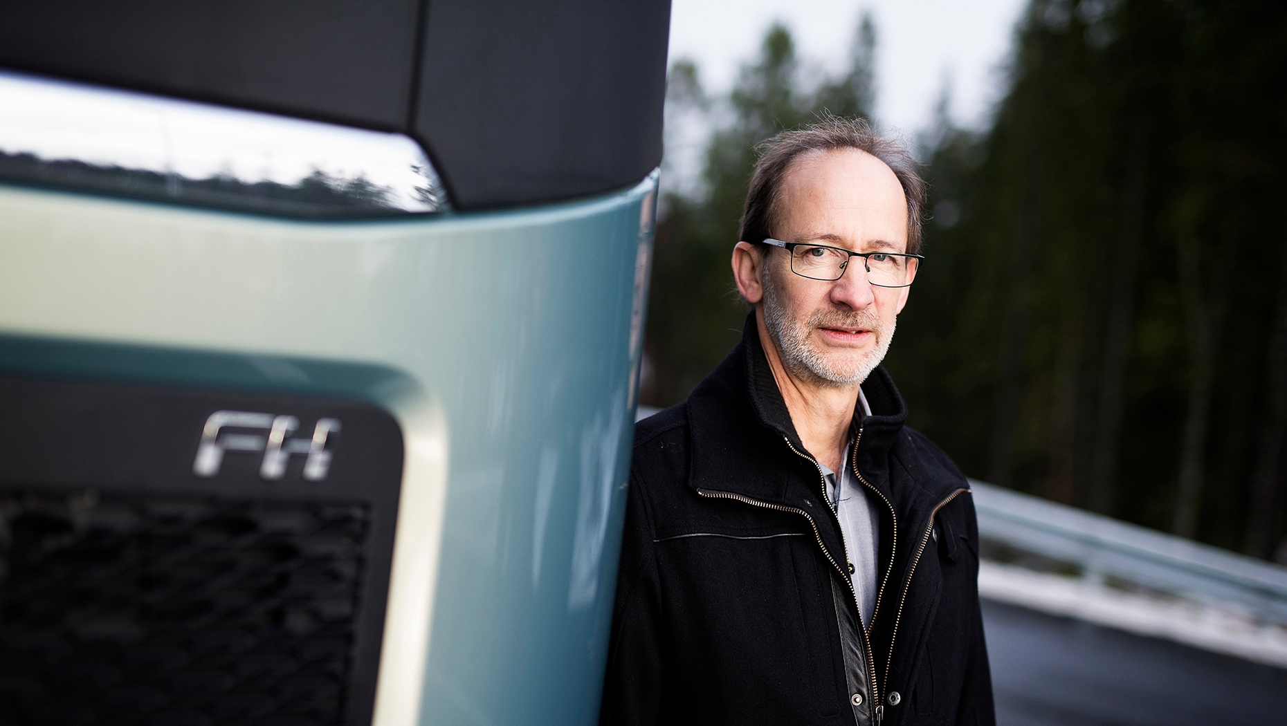 Carl Johan Almqvist, Traffic & Product Safety Director chez Volvo Trucks