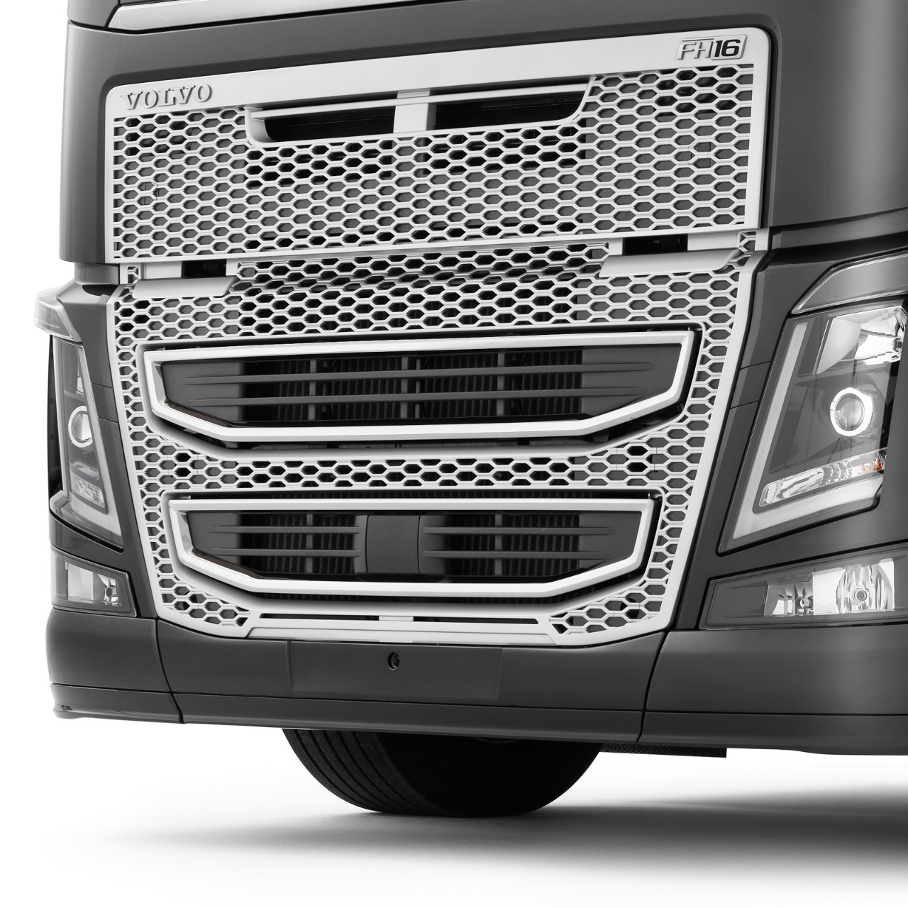 Protection anti-encastrement frontal Volvo Trucks