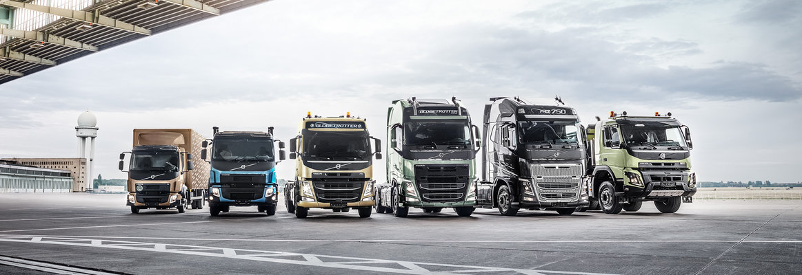 Volvo trucks dealer euro 6 range